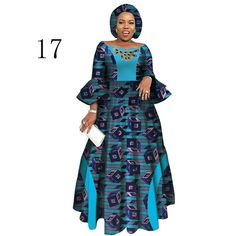 Long Sleeve Dresses For Women Party Wedding Casual Date Dashiki African Women Dresses African Dresses For Women Wy3819 Latest African Fashion Dresses, African Print Dresses, African Dresses For Women, African Print Fashion, African Attire, African Clothes, African Women Fashion, Traditional African Clothing, Style Africain