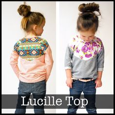 The Lucille Top — ShwinDesigns