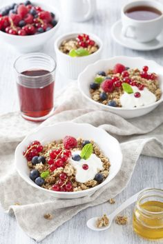 Holland America Museli Cereal recipe (photo is of what we made at home following the recipe, but adding additional fruit topping)