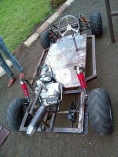 Go kart Mini Jeep, Mini Bike, Karting, Custom Bikes, Custom Cars, Go Kart Chassis, Motorized Trike, Go Kart Kits, Homemade Go Kart
