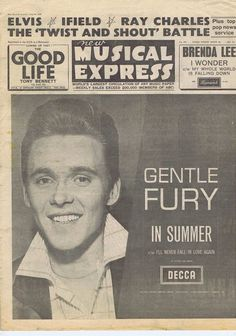 BILLY FURY / BEATLES / PRESLEY / FRANK IFIELD NME Jul 19 1963 | eBay
