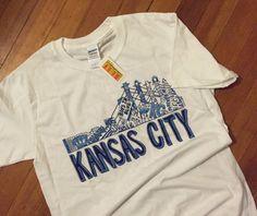 Kansas City CHAMPS Custom Tee by LuluArtKansas on Etsy