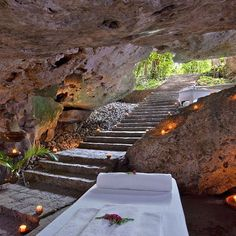 Unwind among natural rocks in a soothing candlelit cenote. #theluxurycollection _____________________________________________________ Want to travel the world with us? Share a new Instagram post highlighting your most inspirational travel moment and why you should be a Global Explorer. Be sure to mention both @theluxurycollection and #theluxurycollection in your post and lastly, tag 3 friends.