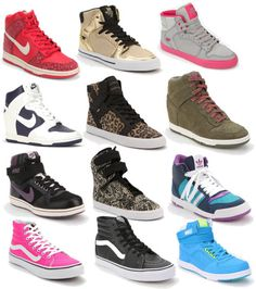 high top everything #nike 3 row down all the way to the left
