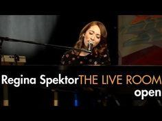 """Regina Spektor - """"Open"""" captured in The Live Room"""