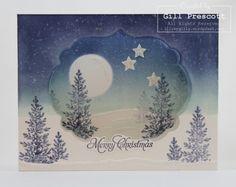 Diorama Christmas card