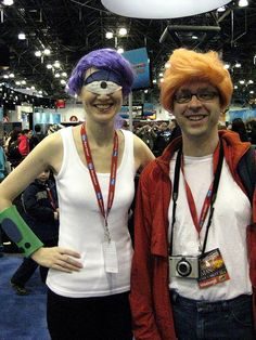 My favorite costumes from the Con. Yay Futurama! Check out the Leela Eye! by Colleen AF Venable, via Flickr