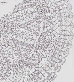 Crochê Gráficos: Lindo Bolero com gráfico