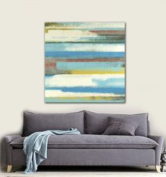 ABSTRACT Painting - ORIGINAL Painting- Acrylic Painting- Modern Art- Contemporary Fine Art30X30 Free Shipping