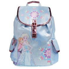 Genuine, Original, Authentic Disney Store Screen art features Anna and Elsa Embroidered snowflake and character outline details Disney Backpack, Fashion Bags, Fashion Backpack, Character Outline, Frozen Merchandise, Cute Backpacks, Disney Outfits, Disneybound, Disney Frozen