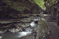 Beautiful waterfalls on a road trip around Finger Lakes Region - New York