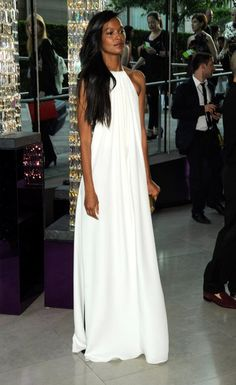 white maxi ... repinned by Style69er, follow more content at…
