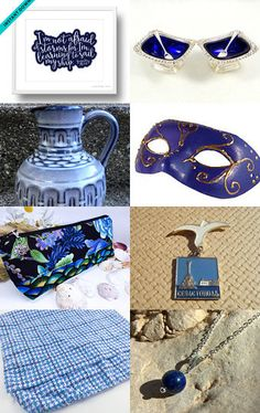True blue by amy berryman on Etsy--Pinned with TreasuryPin.com