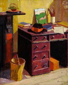 The Artist's Desk  Malcolm Drummond - circa 1915
