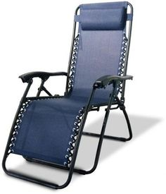 Caravan Canopy Blue Zero-Gravity Durable Comfortable Chair Adjustable Headrest  #adjustablheadrest #zerogravitychair #chair