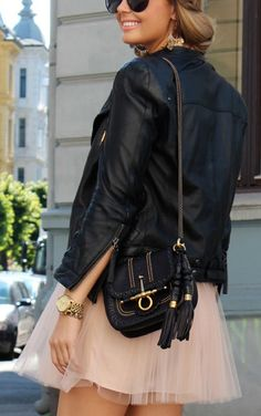 Leather | Tulle