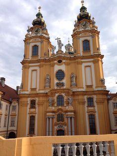 Melk Abby in Melk, Austria