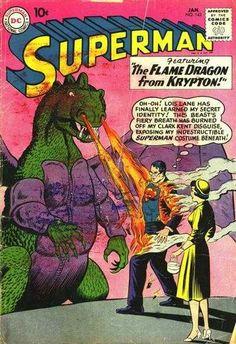 1961-01 - Superman Volume 1 - #142 - Lois Lane's Secret Helper! - Superman Meets Al Capone! - The Flame Dragon from Krypton! #SupermanComics #DCComics #SupermanFan #Superman #ComicBooks