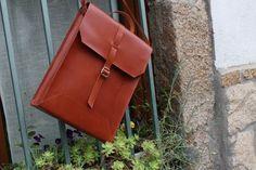 Bag-Leather Man Bag - Mens business bag - computer bag - leather messenger , handmade man briefcase - Leather Shoulder Bag Nature