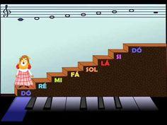 Mucuninha - Aprendendo as Notas Musicais