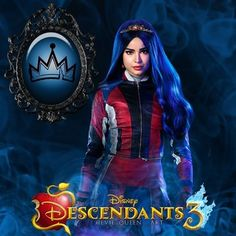 Sofia Carson as Evie Daughter Of The Evil Queen From Snow White Descendants Characters, Disney Channel Descendants, Disney Descendants 3, Descendants Cast, Cameron Boyce, Smallville, Sophia Carson, Isle Of The Lost, Mal And Evie