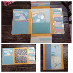 Scrapbook obsessed. Love making these photo folios
