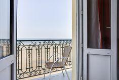 Balcon - chambre vue sur mer - Hôtel Kyriad St Malo Plage