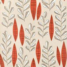 Garden City Putty Rouge Wallpaper by Miss Print City Wallpaper, Modern Wallpaper, Wallpaper Online, Print Wallpaper, Pattern Wallpaper, Hallway Wallpaper, Orange Wallpaper, Graphic Wallpaper, Textiles