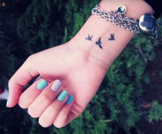 Your best friend is obsessed with tattoos... especially wrist ones.