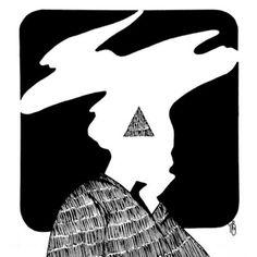 Искусство discovered by Rei Altman on We Heart It Dark Art Illustrations, Illustration Art, Feminist Art, Ap Art, Art Reference Poses, Character Drawing, Cool Drawings, Inktober, Art Inspo