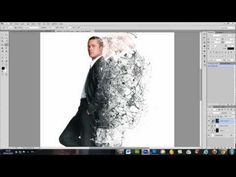 Photoshop tutorial dispersion effect.  Not hard to do this effect. I did it following the instructions. (AMC)