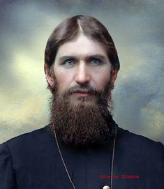 1910 image of Grigori Rasputin, the infamous Russian 'Mad Monk', a mystic healer and confident to the Tsars of Russia, the Romanov family