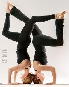 Fun!! Partner yoga :)