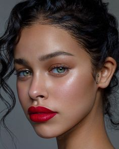 Chic 120 Summer Makeup Ideas - Schicke 120 Sommer Make-up Ideen Makeup Goals, Makeup Inspo, Makeup Inspiration, Makeup Ideas, Makeup Tutorials, Dewy Makeup Tutorial, Makeup Tricks, Beauty Make Up, Hair Beauty