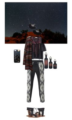 """""""Morocco nights"""" by barbara-lancianese ❤ liked on Polyvore featuring Nikki Strange, Ports 1961, Leon & Harper and Lucky Brand"""