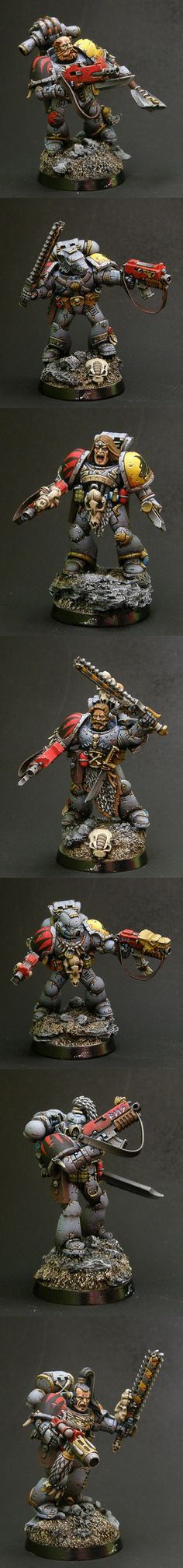 Space Wolves. The detail is fantastic