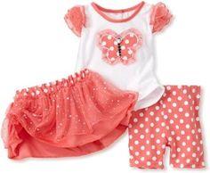 Little Lass Baby-girls Infant 3 Piece Butterfly Tutu Short Set --- http://bizz.mx/kt6