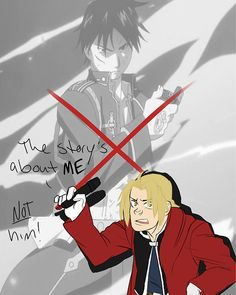 FMA and Emporer's New Groove crossover. The story is about me (Ed), not him (Roy) lol [by mikasrockbells]