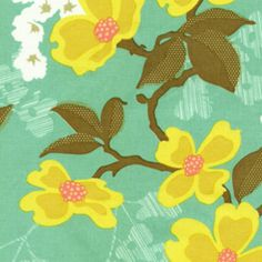 Joel Dewberry - Modern Meadow - Dogwood Bloom in Sunglow