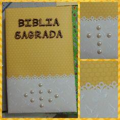 Capa para Bíblia Scrapbook Recordaria