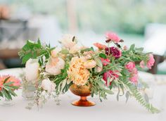 Blogger Bride Jessye of City Tonic's Colorful DIY Wedding Gallery - Style Me Pretty