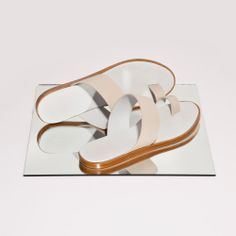 Minimalist Sandal. Woman by Common Projects