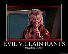 Best. Villain. Ever! #startrek #scifi #geek