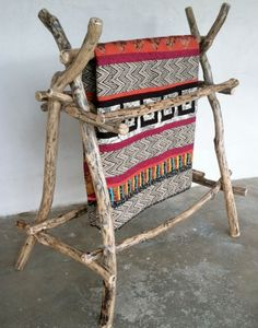 ❤ =^..^= ❤   Braids & Tangles (quilt rack.).  Driftwood!  Don't forget to use acid free paper under the fold or where the quilt touches the wood.