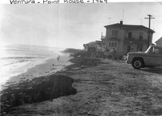 Point House, Ventura Beach, Ventura, CA 1964  Husband lived there when he was a teenager-carazy! (personal photo)