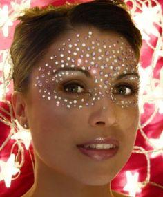Dicas de Maquiagem para o Carnaval, com muito brilho, Glitter e Strass | Jeito Simples de Ser