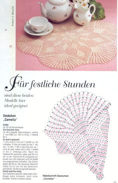 crocheted napkins...<3 Deniz <3