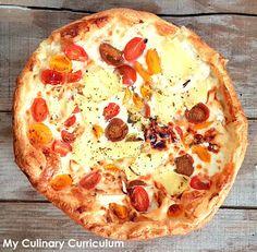 My Culinary Curriculum: Tarte très mozzarella, très chèvre et bien d'autre...