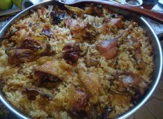 Foto: Dreka per sot :) Low Sodium Recipes, Pasta Bake, Greek Recipes, Deli, Poultry, Baking Recipes, Chicken Recipes, Oatmeal, Food And Drink