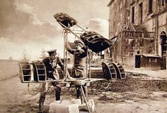 """WWI, German Activities. Translated from German: """"Captured Flugelhorn apparatus of French design, the anti-aircraft batteries used these to detect pilots in the war with Italy""""."""" Courtesy of the Library of Congress."""
